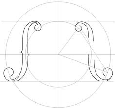 F hole template google search scroll saw patterns for Guitar f hole template