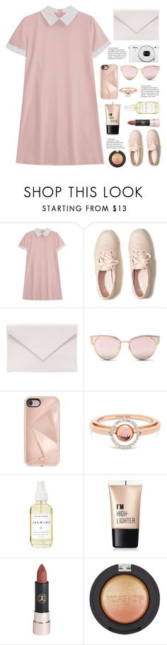 """By Your Side"" by belleshines ❤ liked on Polyvore featuring Hollister Co., Verali, Nikon, LMNT, Rebecca Minkoff, Marie Mas, A Weathered Penny, Charlotte Russe and Topshop"