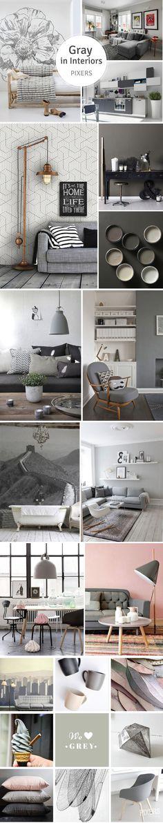 Minimalist Recipe for Perfect Interior – Grayness <3 Check our guide!   www.pixersize.com