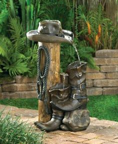 I want this water fountain for our garden.