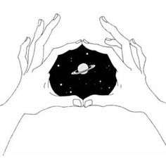 the space is in your hands We Heart It