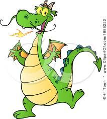 Royalty free clipart illustration of a happy green dragon dancing, on a white background. Dragon clip by Hit Toon. Cartoon Dragon, Cartoon Art, Cartoon Characters, Cartoon Images, Dragon Dance, Dragon Art, Cartoon Butterfly, Cute Fantasy Creatures, Fire Breathing Dragon