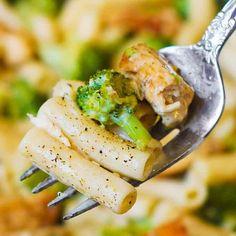 Chicken Broccoli Alfredo Pasta Recipe