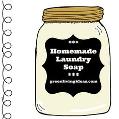 Learn how to make your own laundry soap with simple, clean ingredients! Try these three recipes and clean your clothes naturally! Pure Castile Soap, Green Craft, Washing Soda, Lemon Essential Oils, Soap Recipes, Laundry Detergent, Crafty Projects, Diy Tutorial, Cleaning