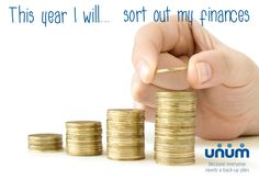 This year I will...sort out my finances