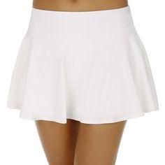 Nike Baseline Skirt Skort - Women - white | buy online at Tennis-Point.co.uk
