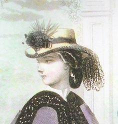 Peterson's March 1864 hat civil war era fashion