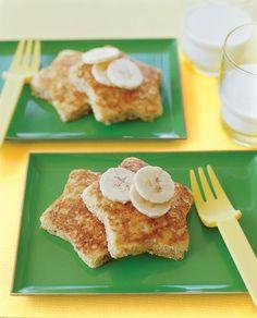 Banana Oatmeal Pancakes. #healthybreakfast #kidsapproved @Parenting