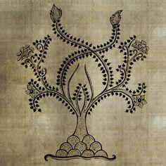 Worli Paisley Tree