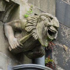 Paisley Abbey gargoyle 13 - Gargoyle - Wikipedia, the free encyclopedia