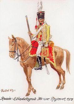 Russia; Hussar Regt. Elizabethgrad 1807