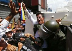 Venezuela protest leader Leopoldo Lopez surrenders, 4th person ...