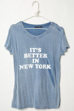 Brandy ♥ Melville | Margie Better In NY Top - Graphics