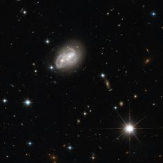 Here we see two spiral galaxies engaged in a cosmic tug-of-war — but in this contest, there will be no winner. The structures of both objects are slowly distorted to resemble new forms, and in some cases, merge together to form new, super galaxies. This particular fate is similar to that of the Milky Way Galaxy, when it will ultimately merge with our closest galactic partner, the Andromeda Galaxy. There is no need to panic however, as this process takes several hundreds of millions of years.