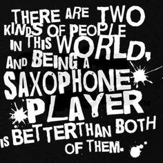 Saxophone Player Hoodie (dark)