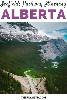 Alberta's Icefields Parkway is one of the most beautiful drives in Canada. This road trip is in order of stops from Lake Louise in Banff National Park and working our way North to Jasper National Park. | Blog by the Planet D | #Travel #IcefieldsParkway #Alberta #Canada | canada travel alberta | alberta canada travel | icefields parkway canada Canada Canada, Alberta Canada, Canada Travel, Adventure Couple, Greatest Adventure, Adventure Awaits, America And Canada, North America, Banff National Park
