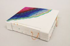 Another Summer Day handmade book by Su Tran, via Behance