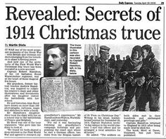 The Christmas truce was a series of widespread, unofficial ceasefires that took place along the Western Front around Christmas during World War I. That is an extraordinary example of how to celebrate the birth of Jesus, the Prince of Peace. Christmas Truce, Christmas History, Christmas Messages, Christmas Eve, Christmas Morning, Past Presidents, One Peace, Prince Of Peace, British Soldier