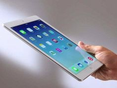 APPLE's IPAD AIR  A best tablet for those who are willing to spend that extra bit for a premium tablet with built-in-class Apps.