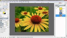 Die Ebenentechnik - GIMP 2.8