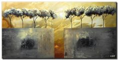 Modern landscape paintings on canvas. Untouched Beauty is a hand-painted artwork, created by the artist Osnat Tzadok. An online art gallery of modern paintings - artwork id Paintings For Sale, Original Paintings, Canvas Painting Landscape, Modern Landscaping, Online Art Gallery, Abstract Art, Canvas Prints, Fine Art, Artwork