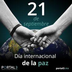 21 de septiembre: Día internacional de la #paz #FechasImportantes #Puebla  http://portal3.mx/