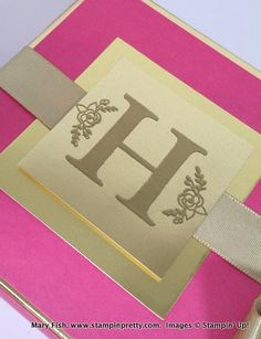 Stampin up stampinup stamping pretty mary fish sophisticated serifs 4