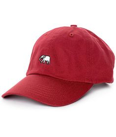 89b479085f4 Empyre Solstice Elephant Burgundy Baseball Hat