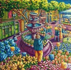 Carine KLEIN  Marché aux fleurs à Grasse  Côte d'Azur  #Alpes-Maritimes #Provence-Alpes-Côte d'Azur  #Grasse