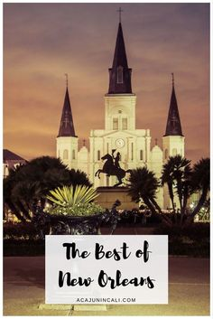 Louisiana Travel | Guide to New Orleans | Louisiana Destinations | Things to do in NOLA | New Orleans Attractions | Where to Eat in New Orleans | New Orleans Itinerary | What to do in New Orleans