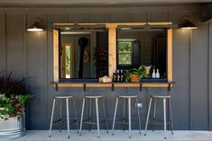 Chip and Joanna take on a country-home renovation for their friend and colleague, Jimmy Don Holmes, the metalwork artist whose work has played a part in a number of Fixer Upper renovations. Creperia Ideas, Home Renovation, Home Remodeling, Jimmy Don, Pass Through Window, Holmes On Homes, Cabins In Texas, Window Bars, Chip And Joanna Gaines