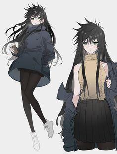 Oc Manga, Anime Oc, Female Anime, Kawaii Anime, Character Design Animation, Female Character Design, Character Art, Cute Characters, Female Characters