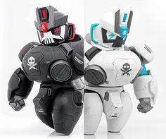 3d Character, Character Concept, Character Design, 3d Figures, Vinyl Figures, Vinyl Toys, Vinyl Art, Mobile Fighter G Gundam, Gundam Toys