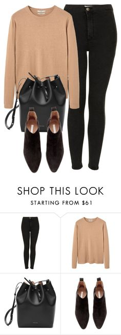 """Untitled #5688"" by laurenmboot ❤ liked on Polyvore featuring Topshop, MANGO and H&M"