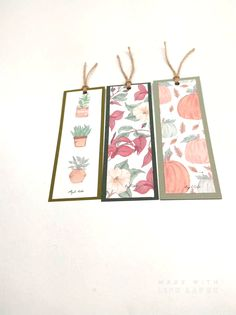 Watercolor Bookmarks, Watercolor Paintings, Creative Bookmarks, Paper Art, Paper Crafts, Bookmark Craft, Doodles, Bullet Journal Books, Diy Crafts Hacks