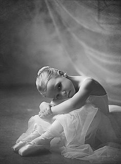 Adorable little ballerina; dance.