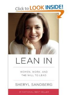 Amazon.com: Lean In: Women, Work, and the Will to Lead (9780385349949): Sheryl Sandberg: Books