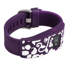 Designer sleeve designed for Fitbit Charge™ and Charge HR - French Bull Vine Plum. withitgear.com. 14.99