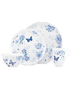 Plates, Cup and Bowl by Lenox Dinnerware