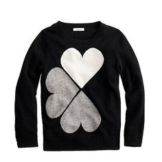 Floating Hearts Sweater