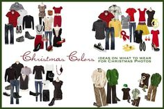 christmas photo sessions what to wear - Google Search