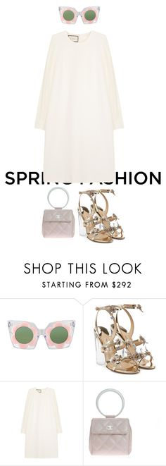 """""""light and fresh"""" by corrinem ❤ liked on Polyvore featuring Paul Andrew, Gucci and Chanel"""