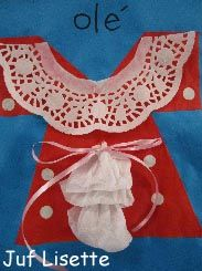 Knutsel een typische klederdracht. Olé!  www.provincieantwerpen.be/europadirect