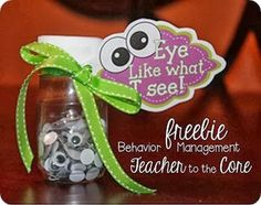 Eye Like What I See! Behavior management idea for the class / they add the eyes to a monster and have a goal for a reward? Love how this quietly rewards positive behavior Behavior Management System, Classroom Behavior Management, Organization And Management, Classroom Organization, Behavior System, Behavior Plans, Class Reward System, Classroom Reward System, Behavior Charts