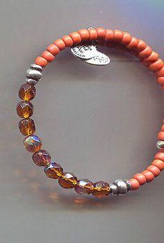 ALEX & ANI  SILVER cinnamon amber  wrap bracelet vintage 66 - http://designerjewelrygalleria.com/alex-ani/alex-ani-silver-cinnamon-amber-wrap-bracelet-vintage-66/