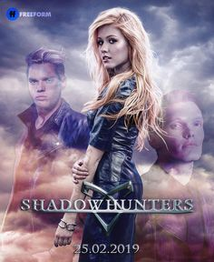 Jace, Clary et Jonathan Cassandra Clare, Series Movies, Movies And Tv Shows, Tv Series, Clary Und Jace, Shadowhunters Season 3, Dominic Sherwood, Isabelle Lightwood, Shadowhunters The Mortal Instruments
