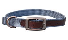 THE SEDONA (DOG0180-2) The Sedona set is designed for rugged dependability and outdoorsy flair with a durable nylon and small leather detailing. The leather reinforced holes help prevent tearing and wear and keep the collar looking top quality. Complete with brushed steel buckles, dee ring and snap. This set is perfect for your outdoor lifestyle. Collar And Leash, Collars, Belt, Steel, Lifestyle, Ring, Leather, Top, Outdoor