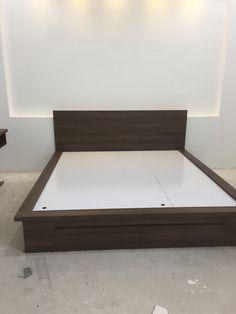Bedroom Cupboard Designs, Wardrobe Design Bedroom, Bedroom Wall Designs, Bedroom Bed Design, Bedroom Furniture Design, Bed Furniture, Pooja Room Door Design, Home Room Design, Low Floor Bed
