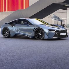 Pictures do not do the BMW i8 justice. So much better in person