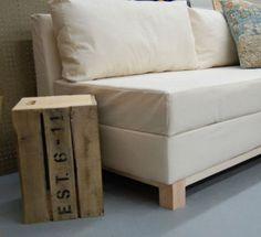 Cómo hacer un sofá cama | Hacer bricolaje es facilisimo.com